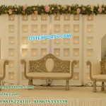 English Wedding Wooden Candle Back Walls