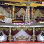 Eye Catching Crystal Wedding Mandap