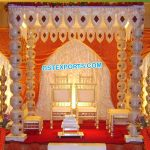 FRP Pot Pillar budget Wedding Mandap