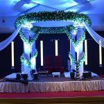 Fantasy White Roman Style Wedding Mandap