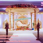 Gorgeous Hindu Wedding Wooden Mandap NZ