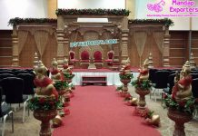 Gorgeous Indian Wedding FRP Mandap UK