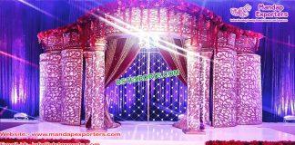Grand Maharaja Wedding Fiber Mandap UK