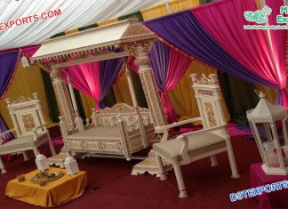 Gujarati Wedding Maharaja Swing Jhula Set