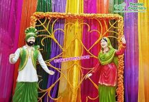 Latest Fiber Punjabi Statues For Entrance