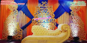 Latest Wedding Fiber Carved Backdrop Panels