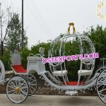 Lovely Pumpkin Style Cinderella Carriage