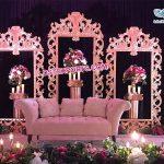 Luxury Wedding Stage Decoration Back Frames
