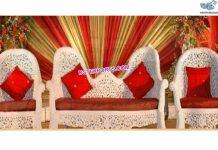 Majestic Bollywood Style Wedding Furniture Set