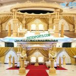 Marathi Wedding Wooden Handicraft Mandap Set