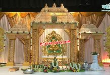Modern Manavarai Diamond Wedding Mandap Paris