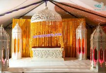 Moroccan Theme Wedding Stage Decoration Props