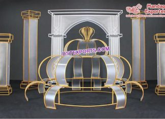 New Designed Wedding Stage Metal Props USA