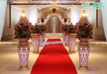Newly Designed Flower Pots/Pillars For Wedding