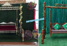 Pakistani Wedding Sangeet Stage Swing