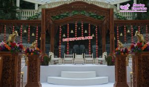 Premium Quality Wooden Wedding Mandap
