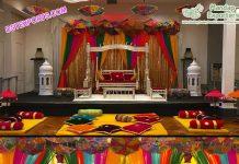 Punjabi Wedding Mehndi Decoration Props