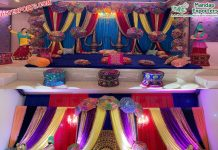 Punjabi Wedding Sangeet Stage Decoration UK