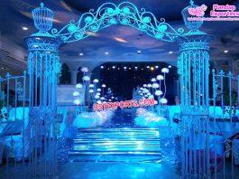 Romantic Wedding Metal Entrance Decor