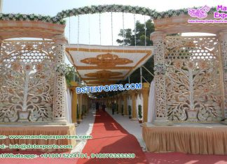 Royal Entrance Decoration For Wedding