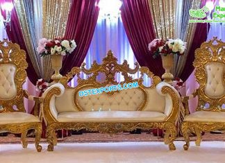 Special Wedding Love Seat Throne & Chairs