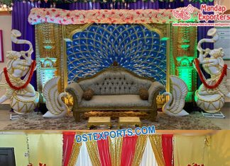 Srilankan Theme Wedding Stage Decoration Switzerland