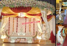 Srilankan Wedding Peacock Mandap Hemburg