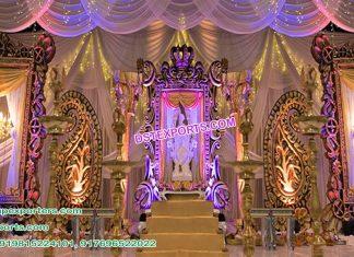 Tamilian Wedding Stage Back Frames Durban