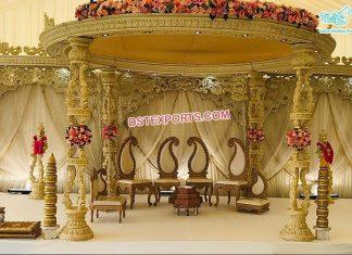 Top Quality Wooden Wedding Mandap Sweden