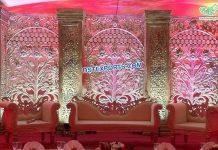 Trending Wedding Stage Decoration Back Frames