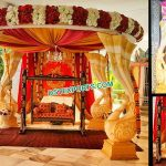 Unique Srilankan Peacock FRP Wedding Mandap