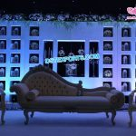 Wedding Stage Jhrokha Candle Back Walls