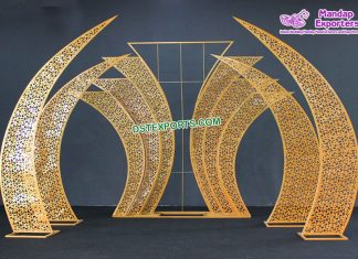 Wholesale Metal Back Screens Wedding Stage