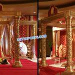 Affordable Gold Wedding Mandap For Sale