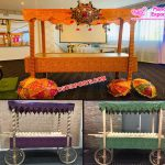 Decorative Indian Wedding Food Stalls