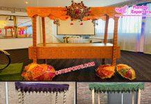 Decorative Indian Wedding Food Stalls
