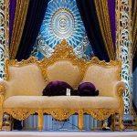 Designer Heart Shape Wedding Sofa Set