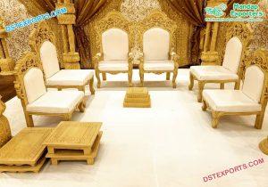 Designer Wedding Mandap Furniture Set