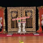 Dreamy South Indian Wedding Stage Mandap