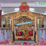 FRP Ganesha On Swing For Wedding Decor