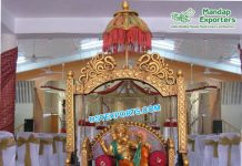 FRP Ganesha On Swing For Wedding Decor