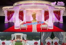Fascinating Hindu Wedding Ceremony Mandap
