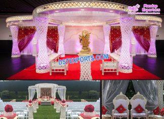 Fascinating Hindu Wedding Ceremony Mandap