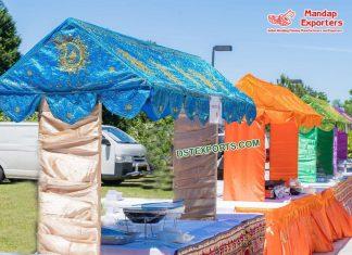Glamorous Wedding Food Stall Decoration