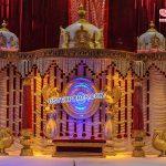 Gorgeous Marathi Wedding Mandapa Decoration