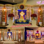 Grand Reception Ceremony Stage Decor