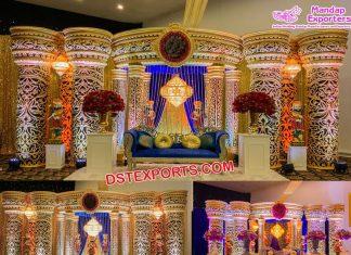 Grand Reception Ceremony Stage Decor