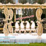 Gujarati Wedding Paisley Pillar Mandap Paris