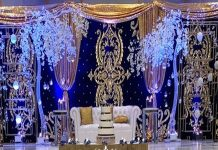 Hand Embroidery Backdrop Curtains For Sale
