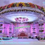 Hot Selling Fountain Crystal Wedding Mandap